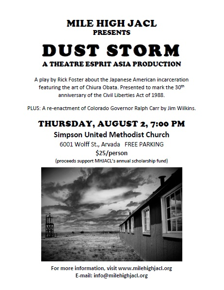 Dust storm poster